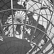 The Unisphere in Corona Park, located in Queens, NY.