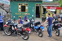 Police checkpoint in Angostura, Santa Cruz, Bolivia