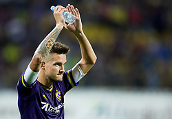 Petar Stojanovic #30 of Maribor after the First Leg football match between NK Maribor and FC Astana in Second qualifying round of UEFA Champions League, on July 14, 2015 in Stadium Ljudski vrt, Maribor, Slovenia. Photo by Vid Ponikvar / Sportida