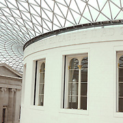 Upper Rotunda View British Museum - London, UK