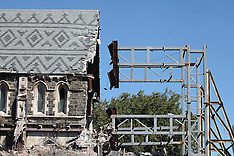 Christchurch-5.7 quake further damages cathedral
