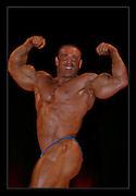 Various professional Body Builders at UK Shows..John Hodgson .