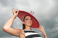 30/07/2014 Sophie Small  from Galway at the Wednesday Plate Day of the Galway Summer racing Festival. Photo: Andrew Downes