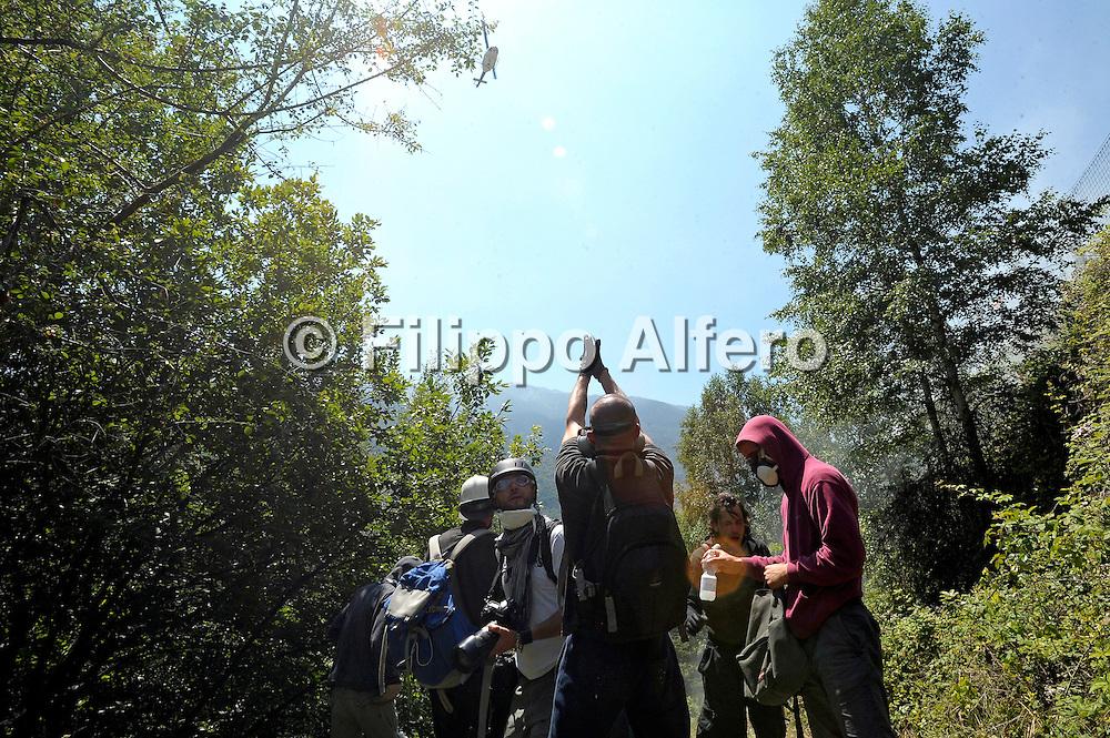 &copy; Filippo Alfero<br /> Manifestazione No Tav a Chiomonte<br /> Chiomonte (TO), 03/07/2011<br /> cronaca