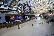 UNITED KINGDOM, London: 01 April 2020 London Waterloo Station this morning remained desolate during rush hour as the country continues to remain at home under the strict orders given by Prime Minister Boris Johnson. The step to put the nation in lockdown was to prevent further spread of the coronavirus.