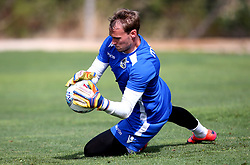 Sam Slocombe of Bristol Rovers in action as Bristol Rovers take part in training on their first day in Portugal - Mandatory by-line: Robbie Stephenson/JMP - 18/07/2017 - FOOTBALL - Colina Verde Golf & Sports Resort - Moncarapacho, England - Sky Bet League One