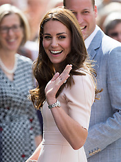 William and Kate in Cornwall 1-9-16