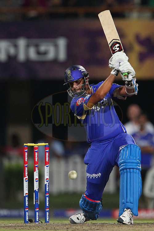 Rahul Dravid during match 47 of the Pepsi Indian Premier League between The Kolkata Knight Riders and the Rajasthan Royals held at the Eden Gardens Stadium in Kolkata on the 3rd May 2013..Photo by Ron Gaunt-IPL-SPORTZPICS  ..Use of this image is subject to the terms and conditions as outlined by the BCCI. These terms can be found by following this link:..http://www.sportzpics.co.za/image/I0000SoRagM2cIEc