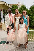 Jen and Tony's Wedding Day.  Portraits.  York, Maine.  ©2015 Karen Bobotas Photographer
