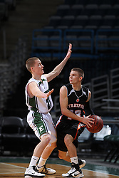 Milwaukee - February 5: This image was made during the 2010-2011 Prep Series  game between Stratford and DC Everest on February 5, 2011 at the Bradley Center in Milwaukee, Wisconsin.