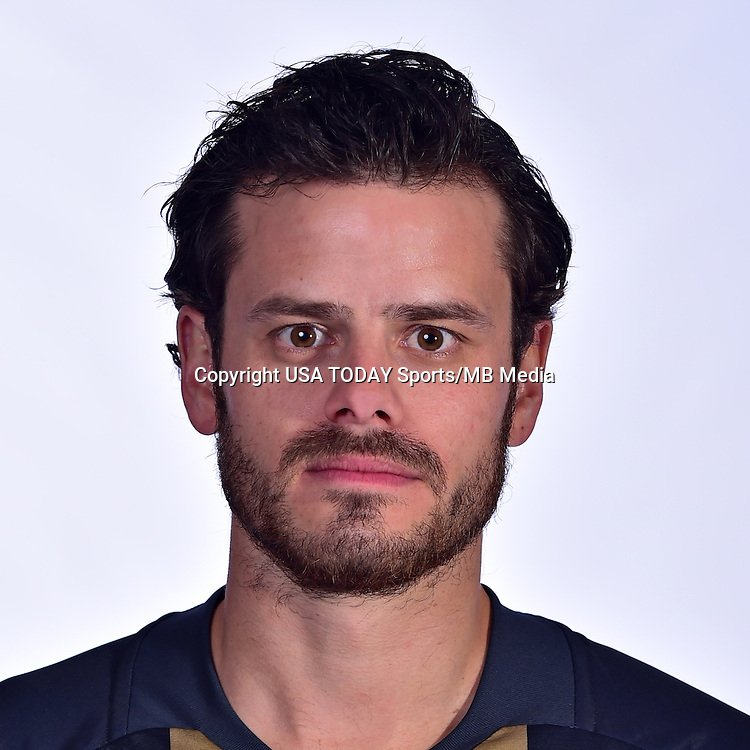 Feb 25, 2016; USA; Philadelphia Union player Tranquillo Barnetta poses for a photo. Mandatory Credit: USA TODAY Sports