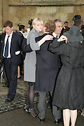 Sophie Dahl and Geordie Greig, Sophie Dahl, Funeral for Isabella Blow. Gloucester Cathedral. 15 May 2007.  -DO NOT ARCHIVE-© Copyright Photograph by Dafydd Jones. 248 Clapham Rd. London SW9 0PZ. Tel 0207 820 0771. www.dafjones.com.