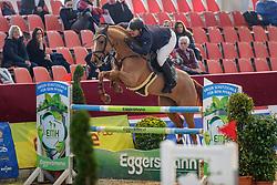 WULSCHNER Benjamin (GER), UNIQUE SR<br /> Neustadt-Dosse - 20. CSI Neustadt-Dosse 2020<br /> Preis der Brauerei Lübz<br /> Finale 7j. Pferde<br /> Int. Zwei-Phasen-Springprüfung<br /> 12. Januar 2020<br /> © www.sportfotos-lafrentz.de/Stefan Lafrentz