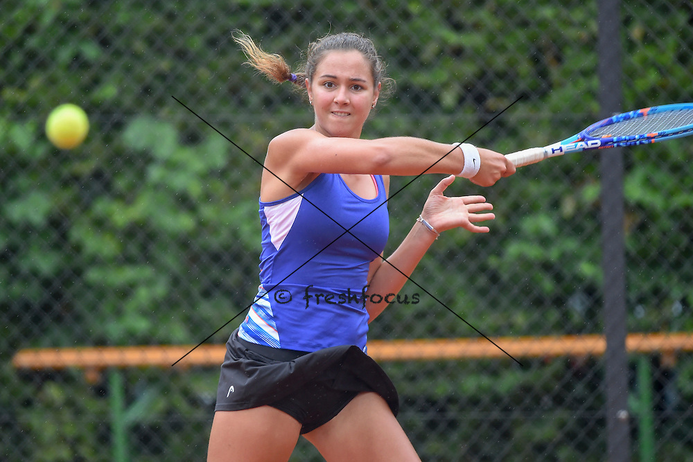 15.08.2015; Winterthur; Tennis Interclub NLA - Finalrunde 2015;<br /> Sarah Ottomano (Lausanne) <br /> (Andy Mueller/freshfocus)
