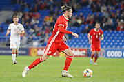 Wales forward Gareth Bale during the Friendly match between Wales and Belarus at the Cardiff City Stadium, Cardiff, Wales on 9 September 2019.