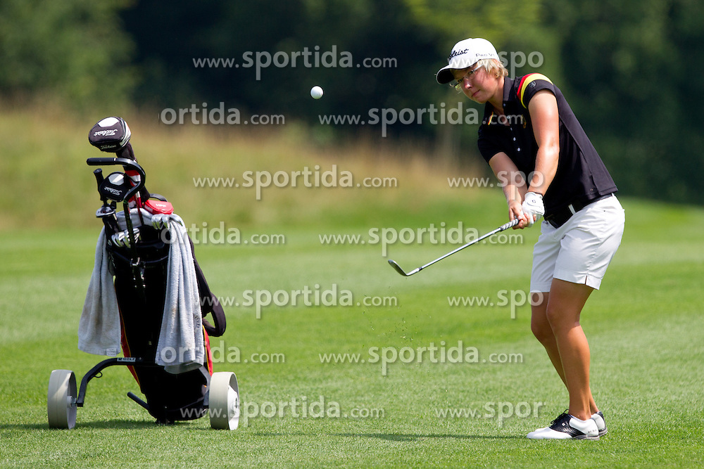 ANN-KATHRIN LINDNER of Germany during golf competition in final day of International European Ladies Amateur Championship 2012, on July 28, 2012 in Smlednik at Ljubljana, Slovenia. (Photo by Matic Klansek Velej / Sportida.com)