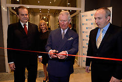 15.03.2016, Zagreb, CRO, der Britische Kronprinz Charles und seine Frau Camilla besuchen Kroatien, im Bild His Royal Highness the Prince of Wales attended the celebration of the 70th anniversary of the British Council in Croatia at the Museum of Arts and Crafts. EXPA Pictures © 2016, PhotoCredit: EXPA/ Pixsell/ Goran Mehkek/Cropix/POOL<br /> <br /> *****ATTENTION - for AUT, SLO, SUI, SWE, ITA, FRA only*****