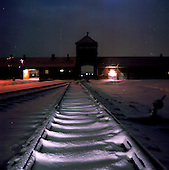 Auschwitz-Berkenau at Night