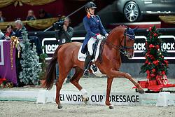 Witte Vrees Madeleine, NED, Cennin<br /> Mevisto Amadeus Horse Indoors Salzburg 2016<br /> © Hippo Foto - Dirk Caremans<br /> 11/12/16