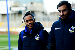 Kyle Bennett of Bristol Rovers and Edward Upson of Bristol Rovers arrives at Memorial Stadium prior to kick off  - Mandatory by-line: Ryan Hiscott/JMP - 01/12/2019 - FOOTBALL - Memorial Stadium - Bristol, England - Bristol Rovers v Plymouth Argyle - Emirates FA Cup second round