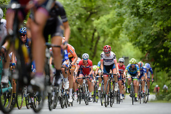 Stephanie Pohl (Cervélo Bigla) gets out of the saddle on the climbs at Thüringen Rundfarht 2016 - Stage 2 a 103km road race starting and finishing in Erfurt, Germany on 16th July 2016.