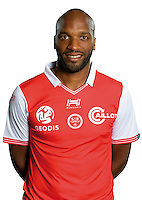 Danilson Da Cruz of Reims during the photocall of Reims for new season of Ligue 2 on September 29th 2016 in Reims<br /> Photo : Stade de Reims / Icon Sport