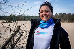 18-03-2018 NED: We hike to change diabetes, Soest<br /> Training voor de Camino 2018 op de Soesterduinen / Iris