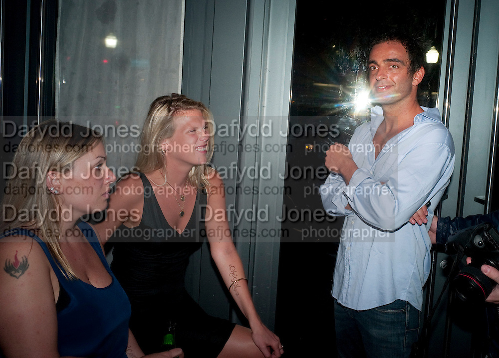 """MATILDE CARLI,, ALEXANDRA RICHARDS; ANDY VALMORBIDA, Andy Valmorbida hosts party to  honor artist Raphael Mazzucco and Executive Editors Jimmy Iovine and Sean ÒDiddyÓ Combs with a presentation of works from their new book, Culo by Mazzucco. Dinner at Mr.ÊChow at the W South Beach.Ê2201 Collins Avenue,Miami Art Basel 2 December 2011<br /> MATILDE CARLI,, ALEXANDRA RICHARDS; ANDY VALMORBIDA, Andy Valmorbida hosts party to  honor artist Raphael Mazzucco and Executive Editors Jimmy Iovine and Sean """"Diddy"""" Combs with a presentation of works from their new book, Culo by Mazzucco. Dinner at Mr.Chow at the W South Beach.2201 Collins Avenue,Miami Art Basel 2 December 2011"""
