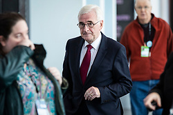 © Licensed to London News Pictures. 24/09/2018. Liverpool, UK. Shadow Chancellor John McDonnell MP at the Labour Party Conference 2018. Photo credit: Rob Pinney/LNP