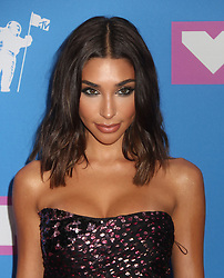 August 20, 2018 - New York City, New York, U.S. - CHANTEL JEFFRIES attends the arrivals for the 2018 MTV 'VMAS' held at Radio City Music Hall. (Credit Image: © Nancy Kaszerman via ZUMA Wire)