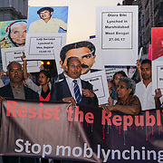 London: Resist the Republic of Fear: March Against Mob Lynching in India