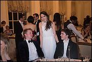 RORY MACLEAN; LIZZY HAMILTON; WILLIAM HAMILTON, Oxford University Polo club Ball, Blenheim Palace. Woodstock. 6 March 2015