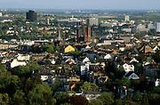 Deutschland Germany Hessen.Hessen, Wiesbaden.Blick vom Neroberg auf Wiesbaden., view from Nero Hill on town...