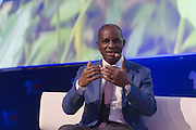 Kakou Diagou,, fondateur du groupe d'assurance NSIA, Africa CEO Forum 2015