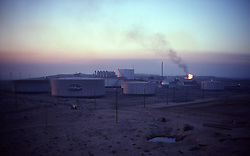 Stock photo of an industrial facility in Saudi Arabia