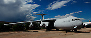 The Lockheed C 141 c Starlifter at the Pima Air and Space Museum in Tuscon, Arizona.<br /> <br /> Photo by Dennis Brack