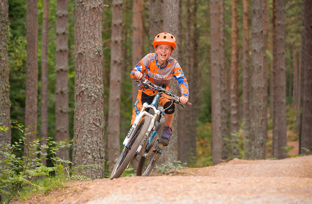 Pump track, WInding Walks, Aberdeenshire and Moray Forest District, Forestry Commission Scotland