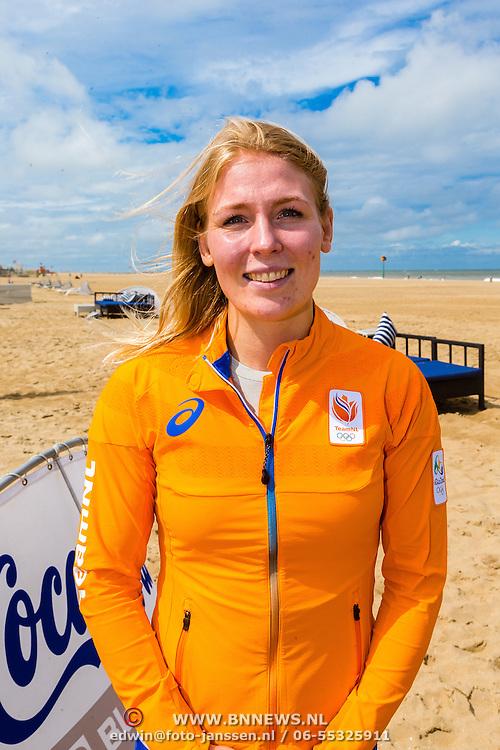 NLD/Scheveningen/20160713 - Perspresentatie judoka's voor de Olympische Spelen 2016 in Rio de Janeiro, Kim Polling