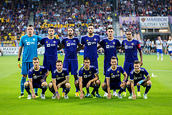 Team Maribor during 2nd Leg football match between NK Maribor and FC Chikhura in 2nd Qualifying Round of UEFA Europa League 2018/19, on August 2, 2018 in Ljudski vrt, Maribor, Slovenia. Photo by Ziga Zupan / Sportida