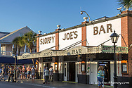 Sloppy Joes bar on Duval Street in Key West, Florida, USA