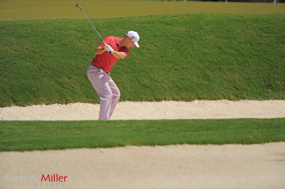 Ben Crane during the first round of the Players Championship at the TPC Sawgrass on May 10, 2012 in Ponte Vedra, Fla. ..©2012 Scott A. Miller..
