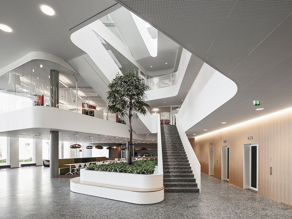 EY-house office building in Helsinki, Finland designed by Verstas architects.