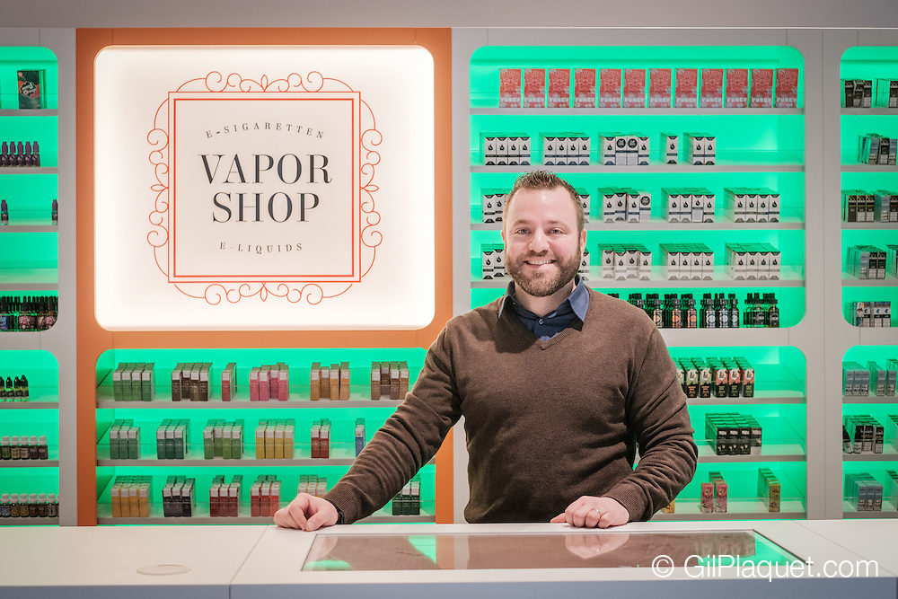 WIllebroek. Alberto Clerckx opende afgelopen weekend zijn Vape shop in Willebroek.