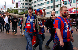 Crystal Palace fans arrive at Wembley for the FA Cup Final  - Mandatory by-line: Robbie Stephenson/JMP - 21/05/2016 - FOOTBALL - Wembley Stadium - London, England - Crystal Palace v Manchester United - The Emirates FA Cup Final