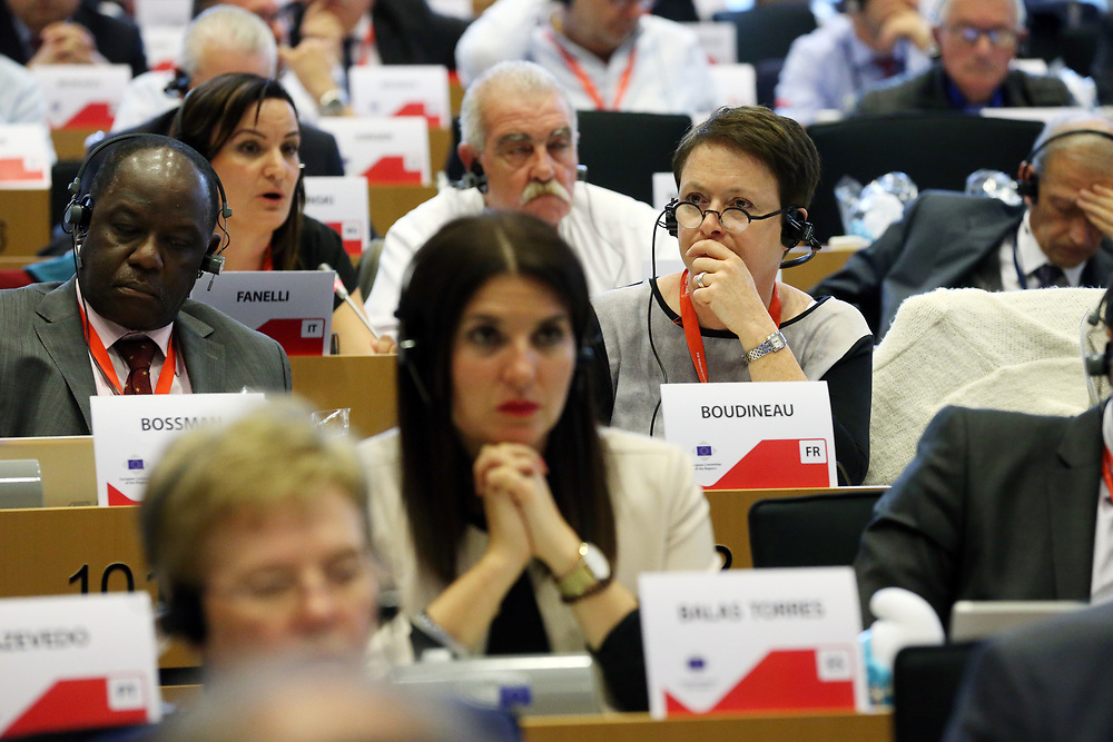 11 May 2017, 123rd Plenary Session of the European Committee of the Regions <br /> Belgium - Brussels - May 2017 <br /> <br /> BOUDINEAU Isabelle, Vice-pr&eacute;sidente du Conseil r&eacute;gional Aquitaine-Poitou-Charente-Limousin, France<br /> <br /> &copy; European Union / Patrick Mascart