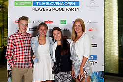 Players Roof Party during Day 5 of ATP Challenger Tilia Slovenia Open 2014 on July 11, 2014 in Hotel Kempinski, Portoroz / Portorose, Slovenia. Photo by Vid Ponikvar / Sportida