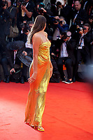 model Irina Shayk at the premiere gala screening of the film A Star is Born at the 75th Venice Film Festival, Sala Grande on Friday 31st August 2018, Venice Lido, Italy.