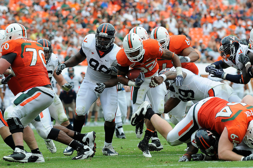 2009 Miami Hurricanes Football vs Virginia