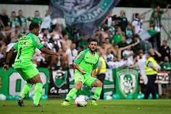 Muhammad Awad of Maccabi Haifa during Football match between NS Mura (SLO) and Maccabi Haifa (IZR) in First qualifying round of UEFA Europa League 2019/20, on July 18, 2019, in Stadium Fazanerija, Murska Sobota, Slovenia. Photo by Blaž Weindorfer / Sportida