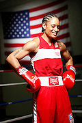 6/24/11 2:59:37 PM -- Colorado Springs, CO. -- A portrait of U.S. Olympic lightweight boxer Queen Underwood, 27, of Seattle, Wash. who will be competing for her fifth title. She began boxing in 2003 and was the 2009 Continental Champion and the 2010 USA Boxing National Champion. She is considered a likely favorite to medal at the 2012 Summer Olympics in London as women's boxing makes its debut as an Olympic sport. -- ...Photo by Marc Piscotty, Freelance.